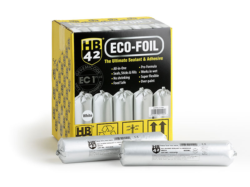 HB42 All-in-One launches in 400ml Eco-Foils